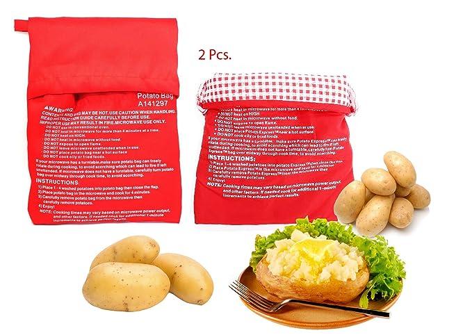 Amazon Reusable Microwave Potato Bagpotato Bag Cookerpotato