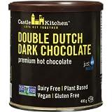 Castle Kitchen Double Dutch Premium Dark Hot Chocolate Mix - Vegan, Plant Based, Gluten Free, Dairy Free, Non-GMO…