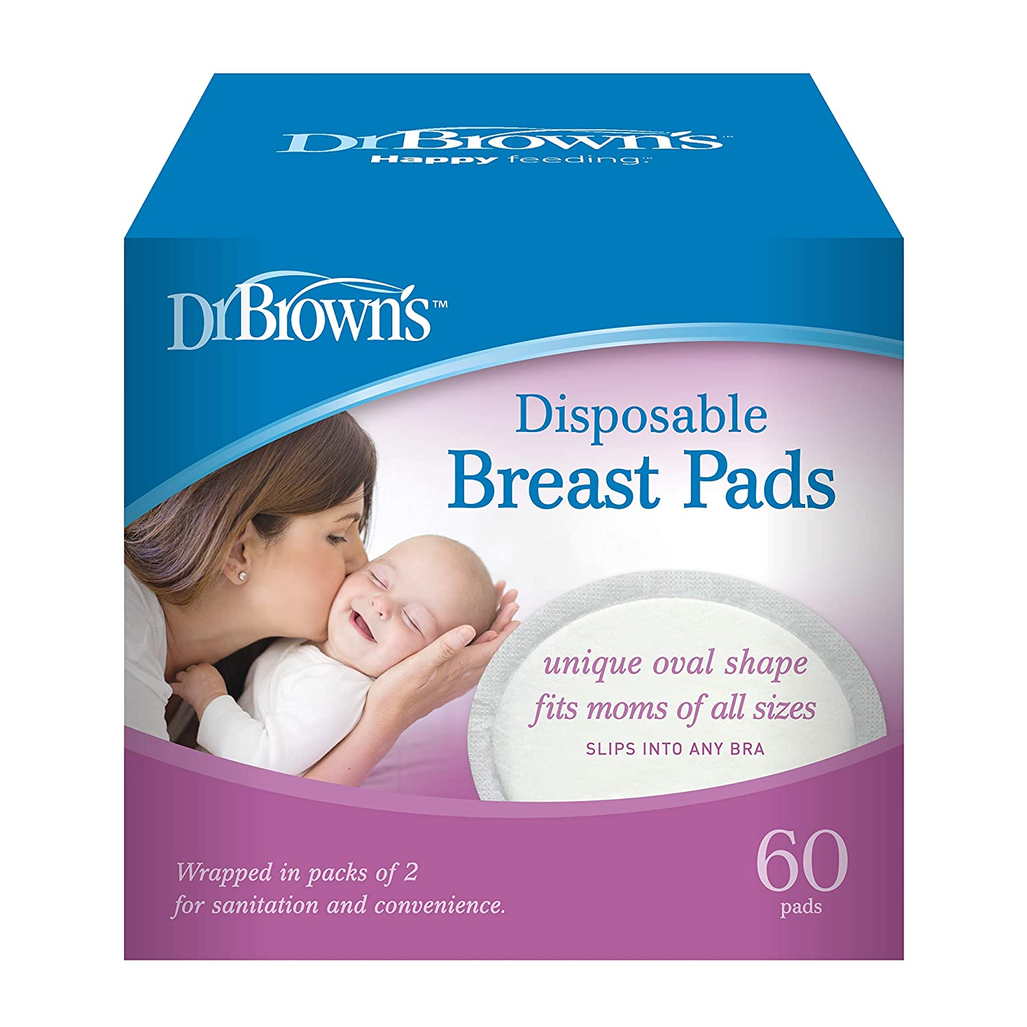 Dr Browns Disposable Breast Pads 60 Count