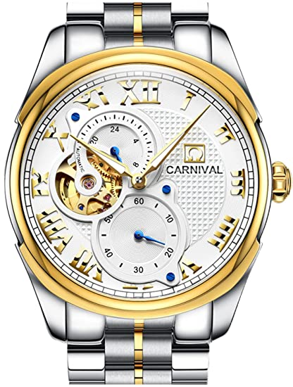 c75f7fd0350d Carnival Skeleton - Reloj automático para Hombre