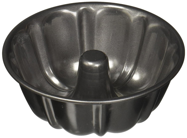 Wilton 2105-2342 Mini Fluted Tube Pan, 6-Inch, Grey