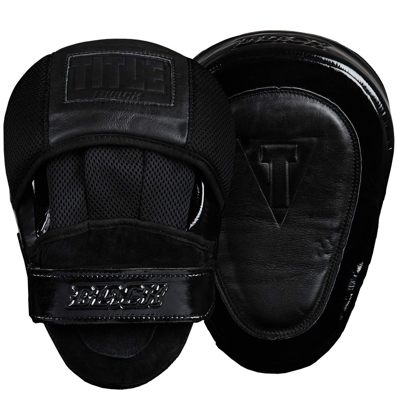 タイトルブラックBlast Punch Mitts B015NIFVHU ブラック Size: 10\