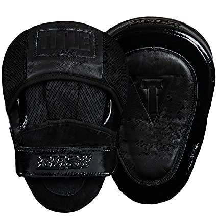 2844d396d37bc Amazon.com : Title Black Blast Punch Mitts, Black : Sports & Outdoors