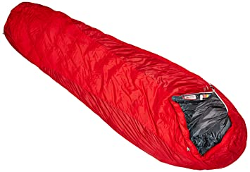 Marmot Always Summer Sleeping Bag 40 Degree Down Cardinal Chili Pepper Long