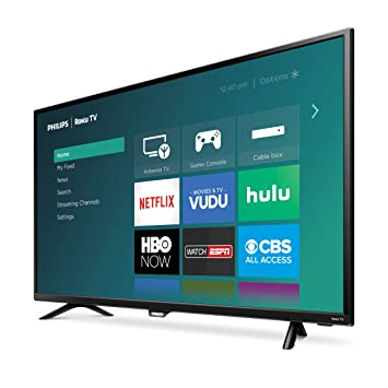 "Review Philips 40"" Class Roku"