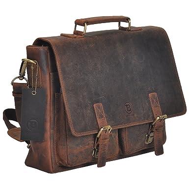 e4baa1d4af CYBER MONDAY SALE Tony s Bags Vintage Rustic Genuine Leather Satchel Office Bag  Shoulder Bag Lather bag
