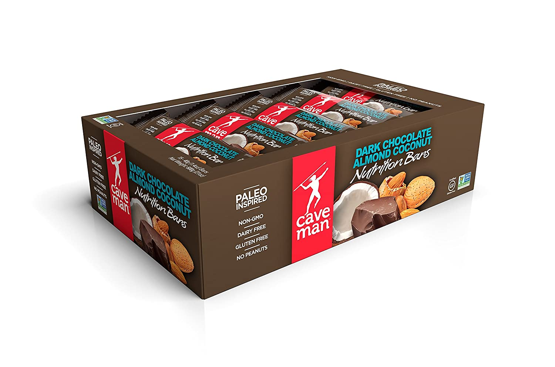 Caveman Food Bars : Amazon.com: caveman foods paleo friendly nutrition bar dark