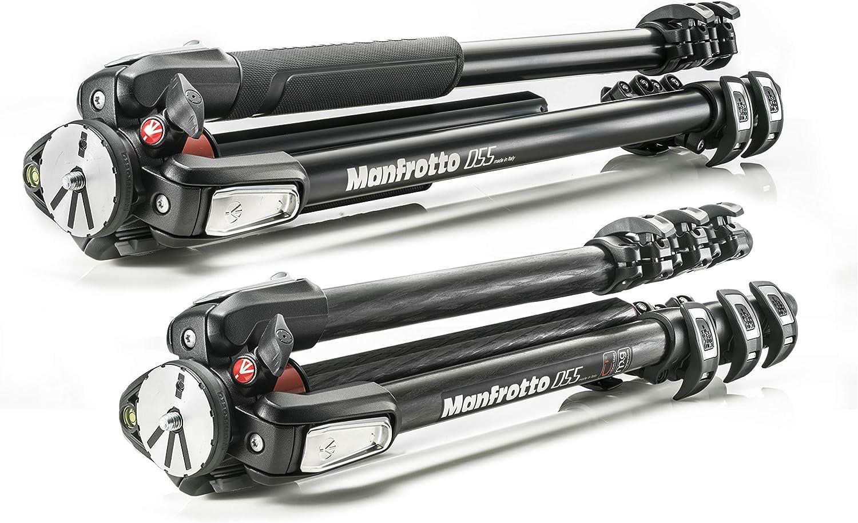 Manfrotto Mt055xpro3 055 Aluminium Stativ Schwarz Kamera