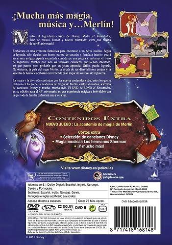 Merlín el encantador (Edición 45 aniversario) [DVD]: Amazon.es: 0 ...
