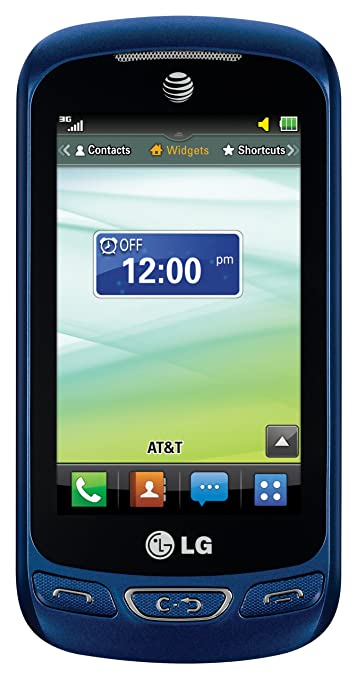 amazon com lg xpression 2 blue at t cell phones accessories rh amazon com at&t lg xpression 2 manual LG Xpression User Manual