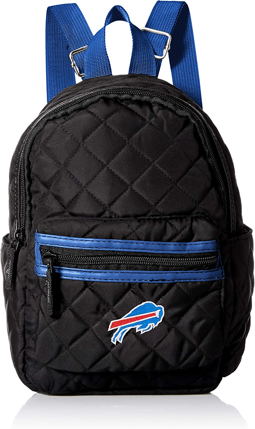 Chicago Bears Black Quilted Mini Backpack Womens