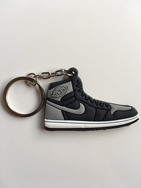 Amazon.com : Jordan Retro 1 Sneaker Keychain Pack Royal Bred ...
