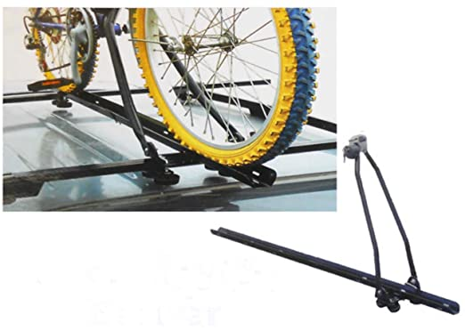 2 X Roadster Car SUV Hatchback Saloon Roof Top Bar Rack Cycle Bicycle Bike  Carrier