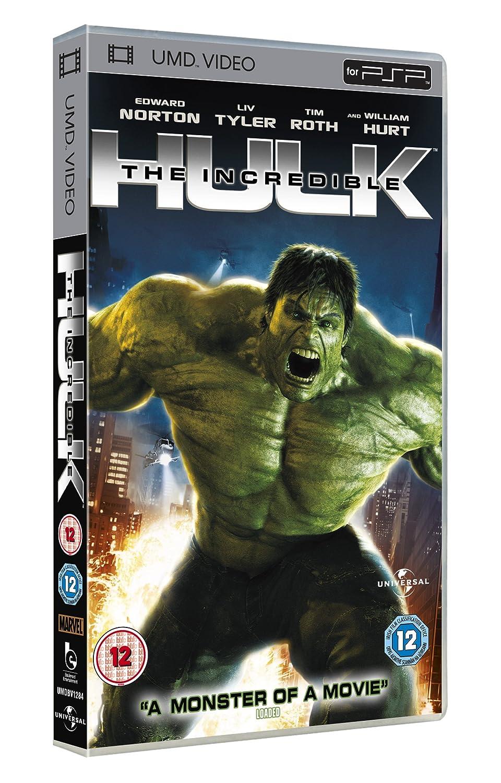 Amazon.com: The Incredible Hulk [UMD for PSP]: Edward Norton, Liv ...