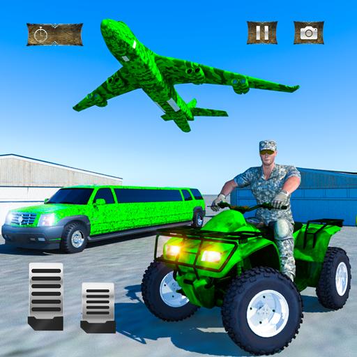 US Army ATV Quad Bike & Limo Car Plane Transporter ()