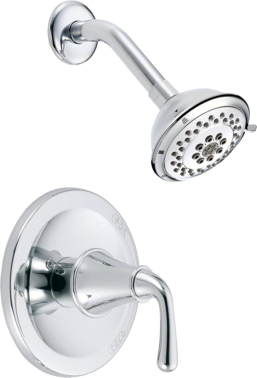 Danze D510511T Pressure Balanced Shower Trim Package with Single Function Shower