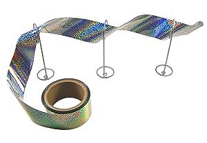 Bird-X Irri-Tape Holographic Iridescent Foil Bird Scare Tape, 2