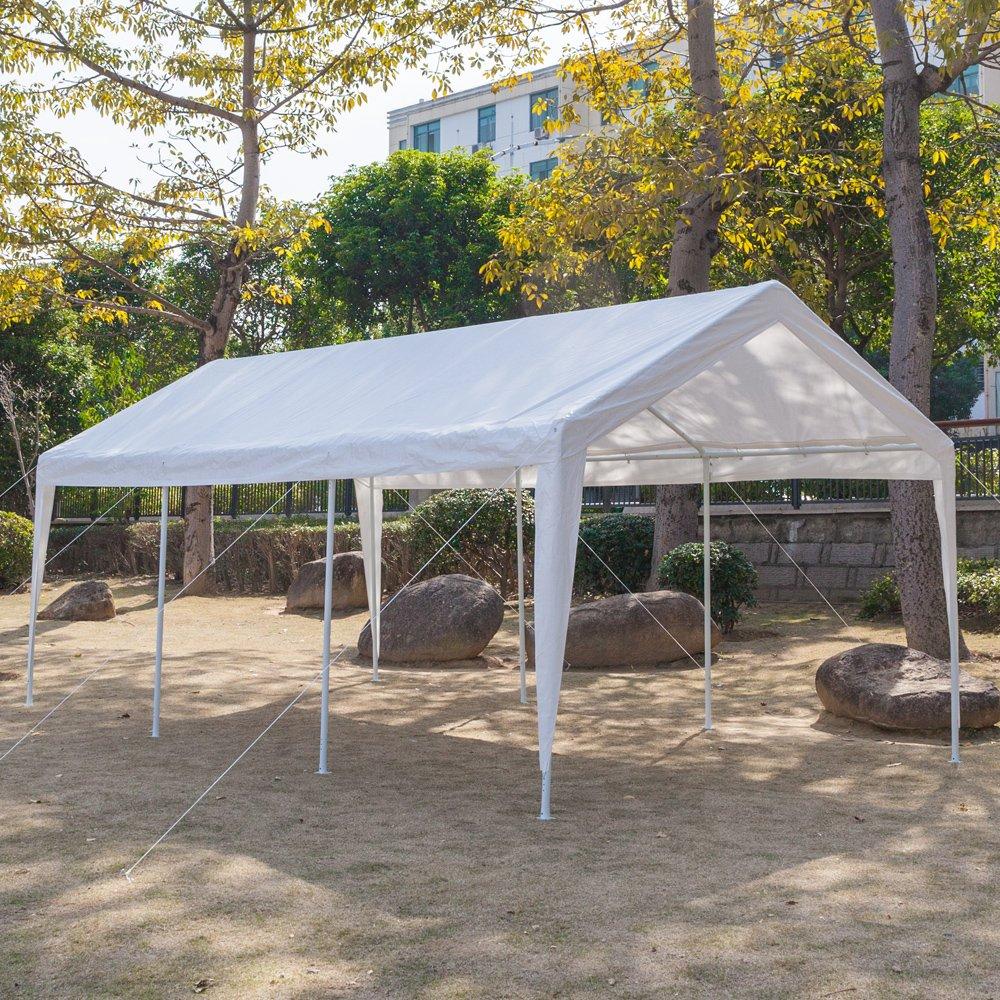 ZZZTDM - Tienda de campaña resistente al aire libre, cubierta de protección UV impermeable y antisol, para fiesta, barbacoa, playa, patio trasero/portón ...