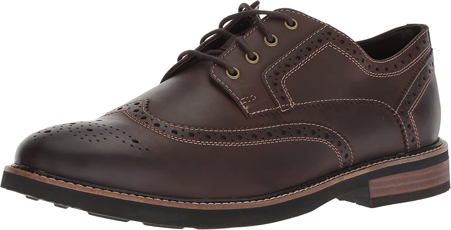 Nunn Bush Men's Oakdale Wingtip Oxford Lace Up