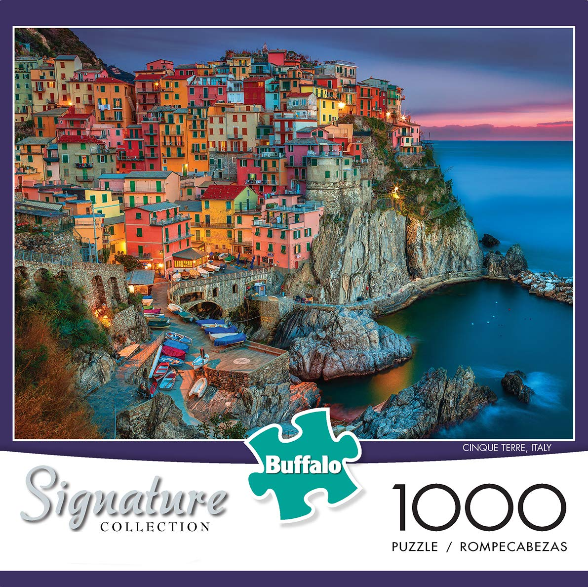 Buffalo Games - Signature Collection - Cinque Terre - 1000 Piece Jigsaw Puzzle by Buffalo Games (Image #2)