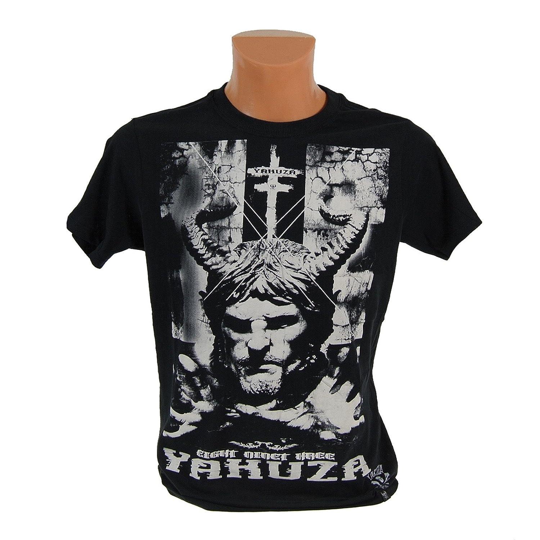 Yakuza Camiseta de Demon Cuello Redondo Con Serigrafía TSB 658 ...