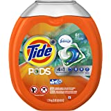 Tide PODS 4 in 1 HE Turbo Laundry Detergent Pacs, Botanicl Rain Scent, 61 Count Tub