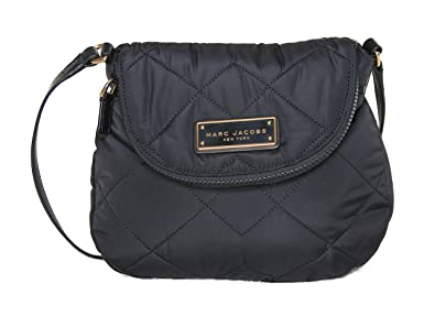 Amazon.com: Marc by Marc Jacobs Mini Natasha Quilted Nylon ... : marc jacobs black quilted bag - Adamdwight.com
