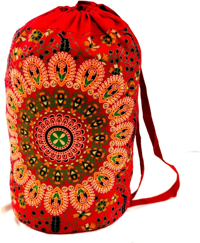 Trade Star Bolsa Indian Star Mandala, Mochila Unisex, Bolsa de Playa Boho, Mochilas Multiusos, Bolsa de algodón, Bolsas de Gimnasio, Mochila Causal (Pattern 14): Amazon.es: Deportes y aire libre