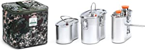 Old Faithful Flameless Geyser Portable Cooking System - Cook Anywhere Without Fire - MRE Freeze Dried Backpacking Camping Quarantine Emergency Bug Out