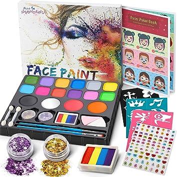 Jojoin Pintura Facial, Pinturas Cara, Maquillaje al Agua para ...