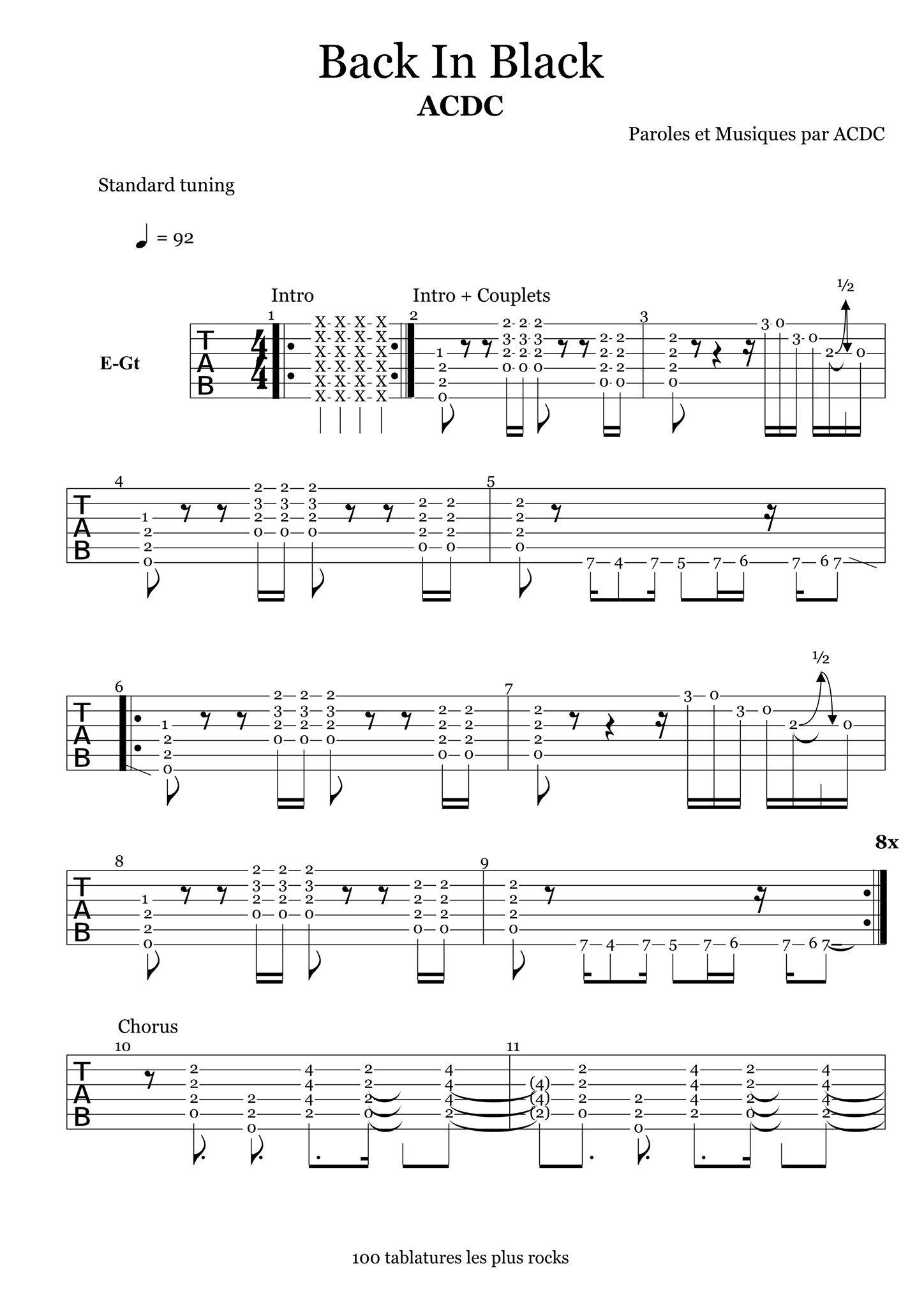 Lincontournable du Rock Las 100 tablaturas esenciales para los ...