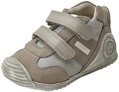 Biomecanics Chaussures Premiers Pas Bébé Garçon - Gris - Gris Perle/Gris, 22 EU EU