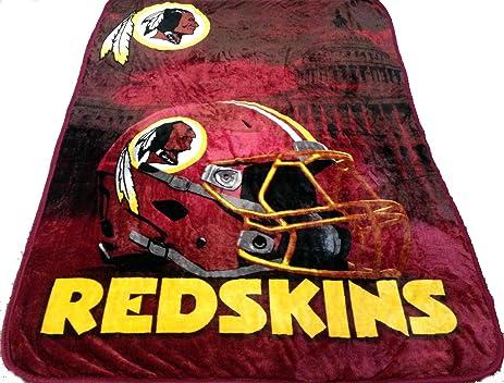 Amazon Washington Redskins Blanket 40x40 NFL Redskins Throw Interesting Redskins Throw Blanket