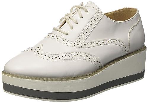 Primadonna Allacciato, Sneaker Donna, Bianco, 37 EU