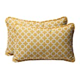 Pillow Perfect Decorative Geometric Rectangle