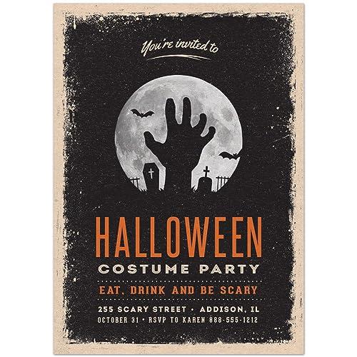 amazon com halloween costume party invitations handmade