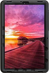 BobjGear Bobj Rugged Tablet Case for Samsung Galaxy Tab S5e (SM-T720, SM-T725, SM-T727) Kid Friendly (Bold Black)