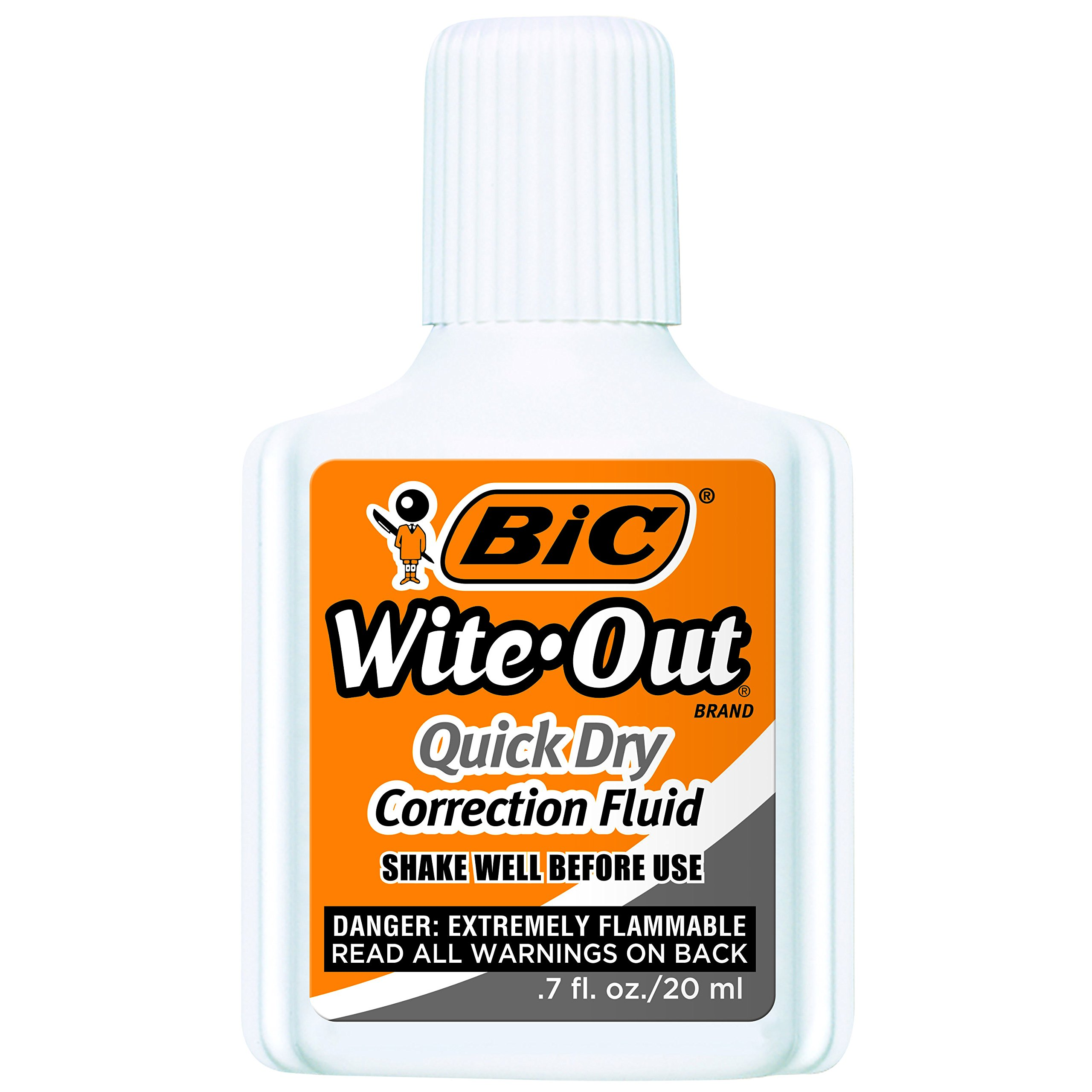 BIC Wite-Out Quick Dry Correction Fluid - 3 Pack (BICWOFQD324) by BIC (Image #2)