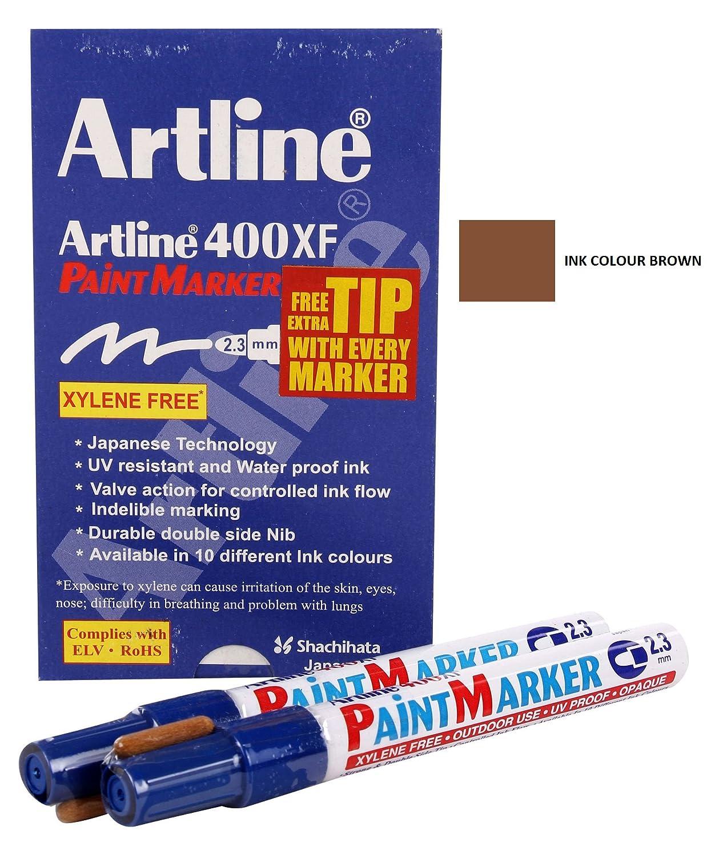 Artline 400Xf Paint Marker 2.3Mm Bullet Nib Tip Purple