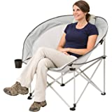 Amazon Com Ozark Trail Folding Camp Chair Blue Sports