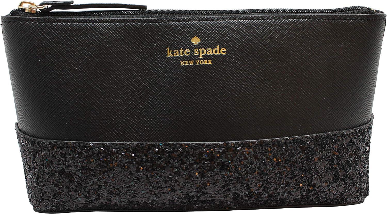 Kate Spade Greta Court Shiloh Makeup Cosmetic Travel Case Dusty Peony