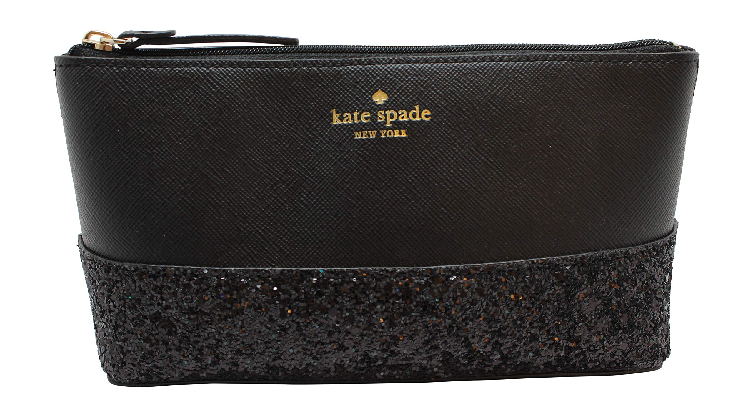 Kate Spade Greta Court Shiloh Makeup Cosmetic Travel Case Black