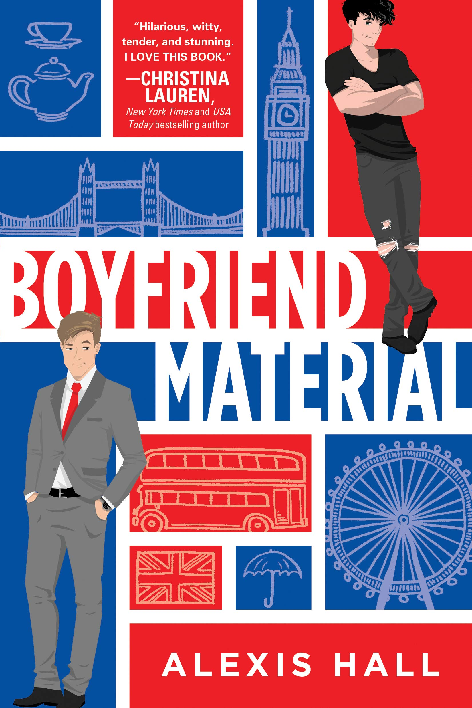 Review: Boyfriend Material, Alexis Hall