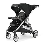 Chicco BravoFor2 Standing/Sitting Double Stroller, Iron