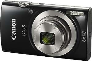Canon IXUS 185 Digital Camera, Black