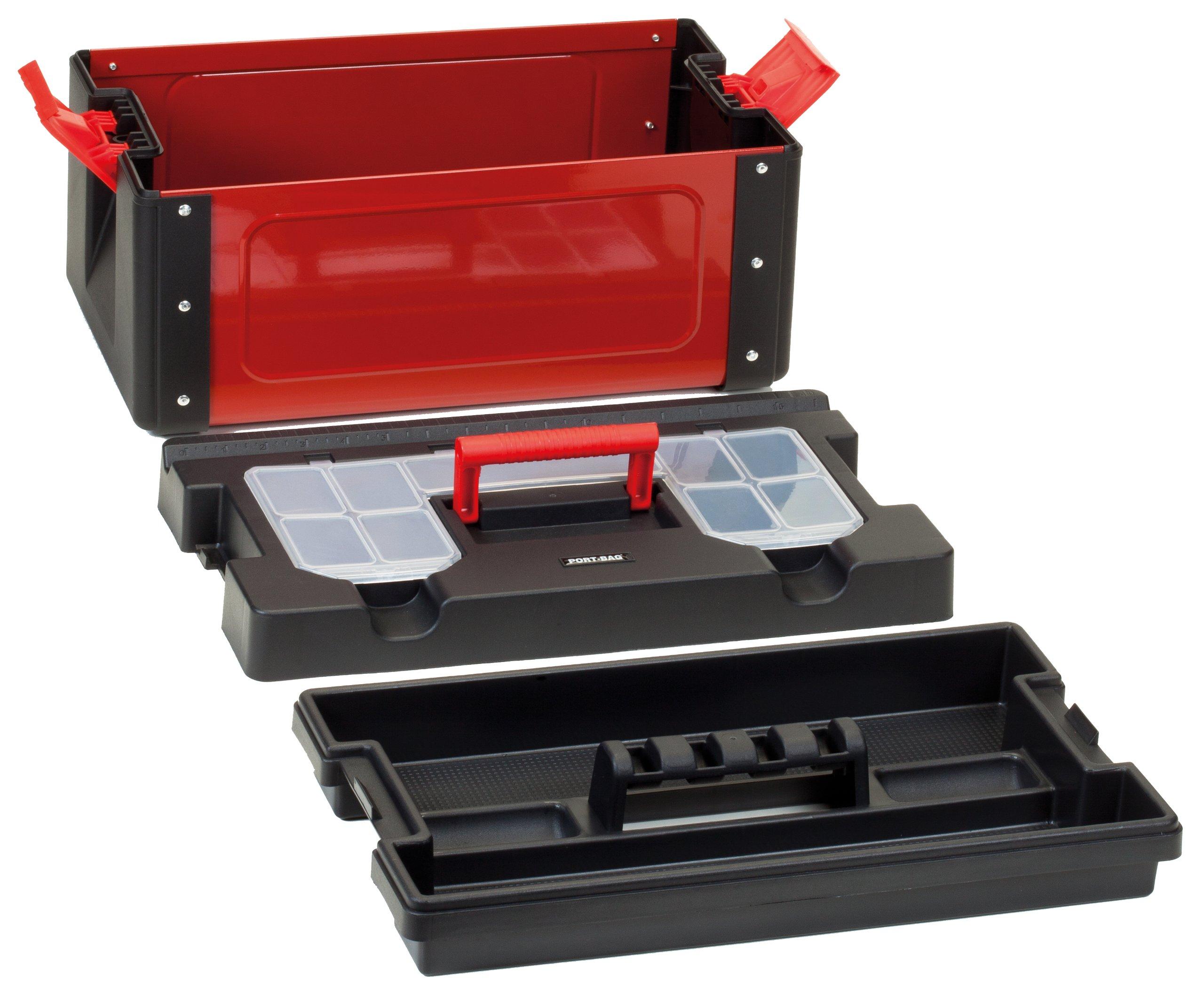 Viso STEELBOX22 Steel/ Polypropylene Tool Box by Viso