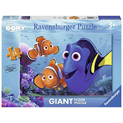 Ravensburger Finding Dory Floor Puzzle 24 Piece Jigsaw Puzzle for Kids – Every Piece is Unique, Pieces Fit Together Perfectly: Toys & Games