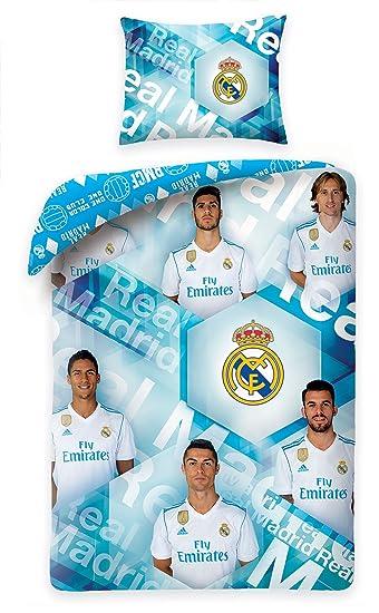 Real Madrid Bettwäsche Player 140x200cm Rm 5025bl Amazonde Sport