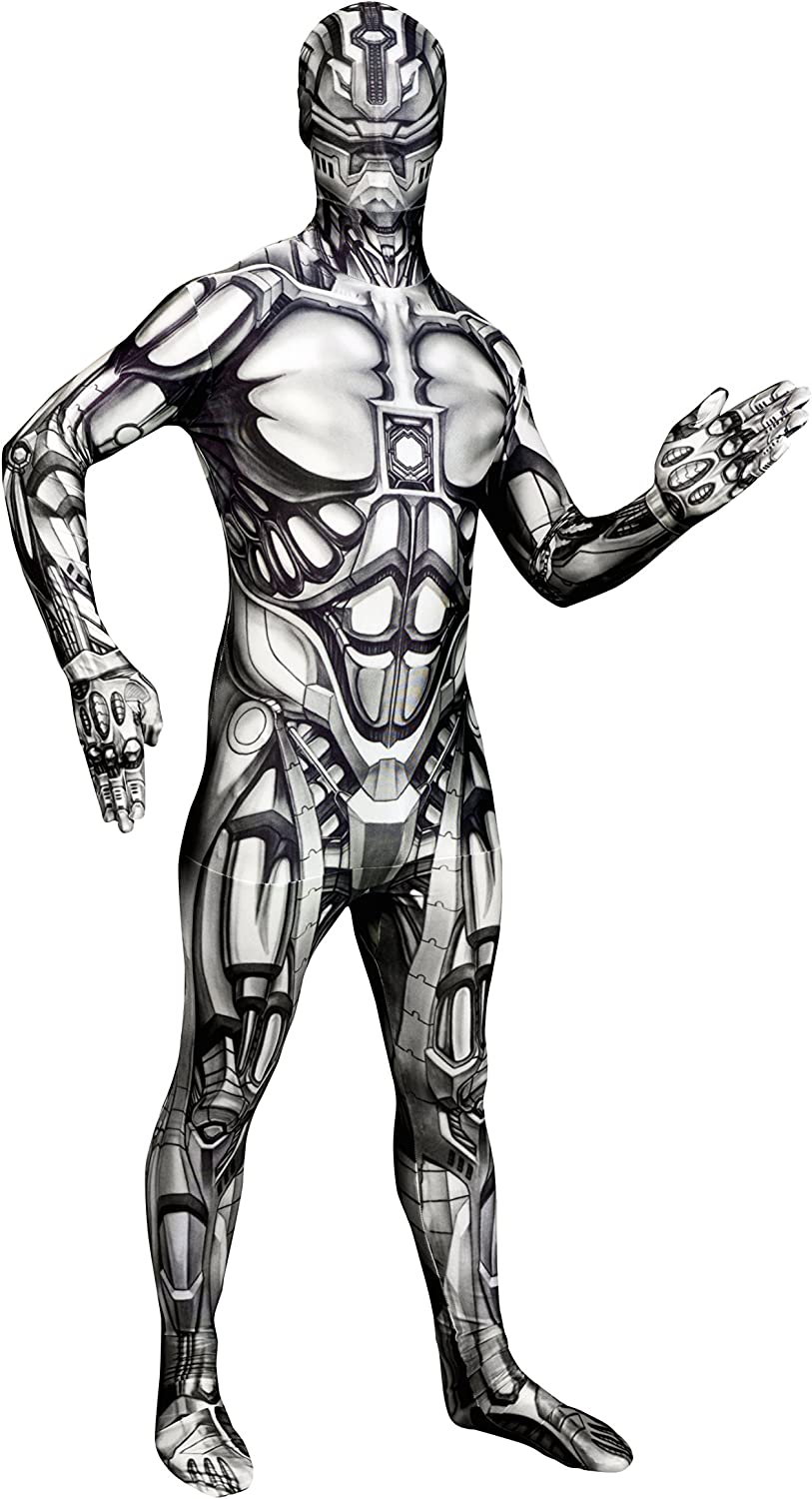 Morphsuits Men's Monster The Android Skinsuit, XX-Large