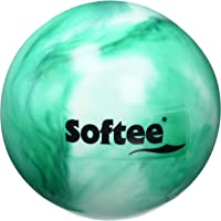 Softee Equipment 0010513 Pelota de Gimnasia, Blanco y Verde, S